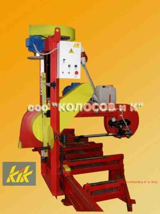 Пилорама консольная - станок ленточнопильный деревообрабатывающий СЛД, зображення 1