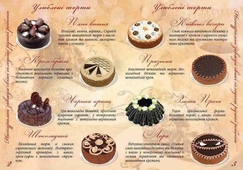 торти, пироги, тістечка, зображення 1