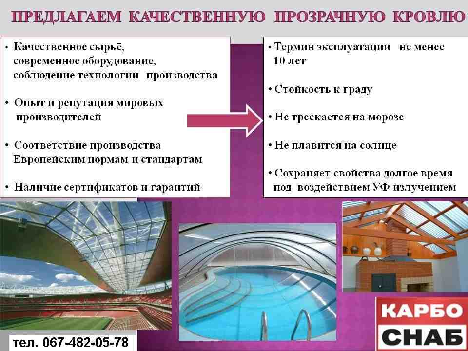 Монолитный поликарбонат, зображення 1