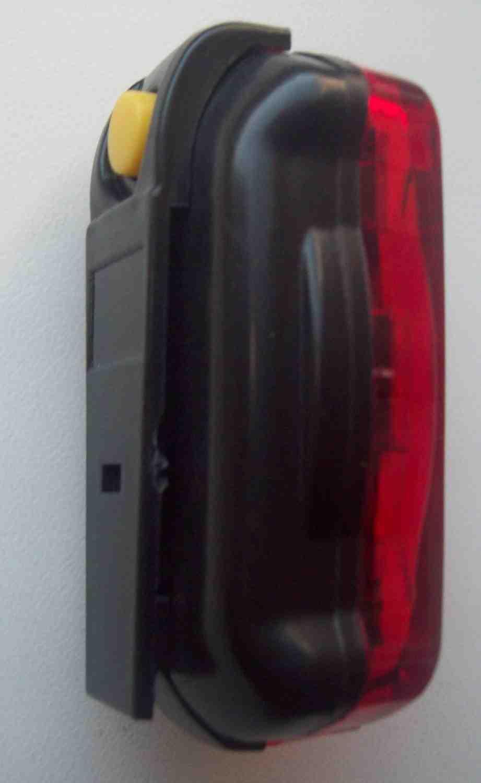 Водонепроникна фара безпеки на велосипед, зображення 1