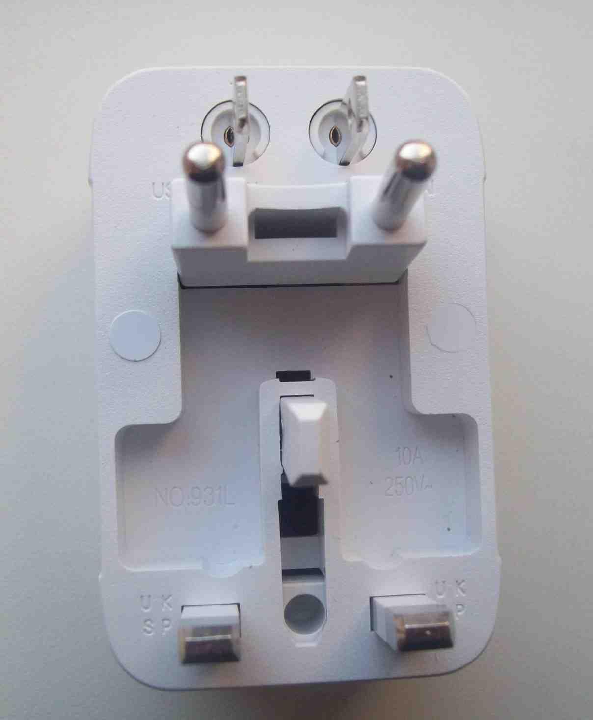 Універсальний електро перехідник для всіх систем, зображення 1