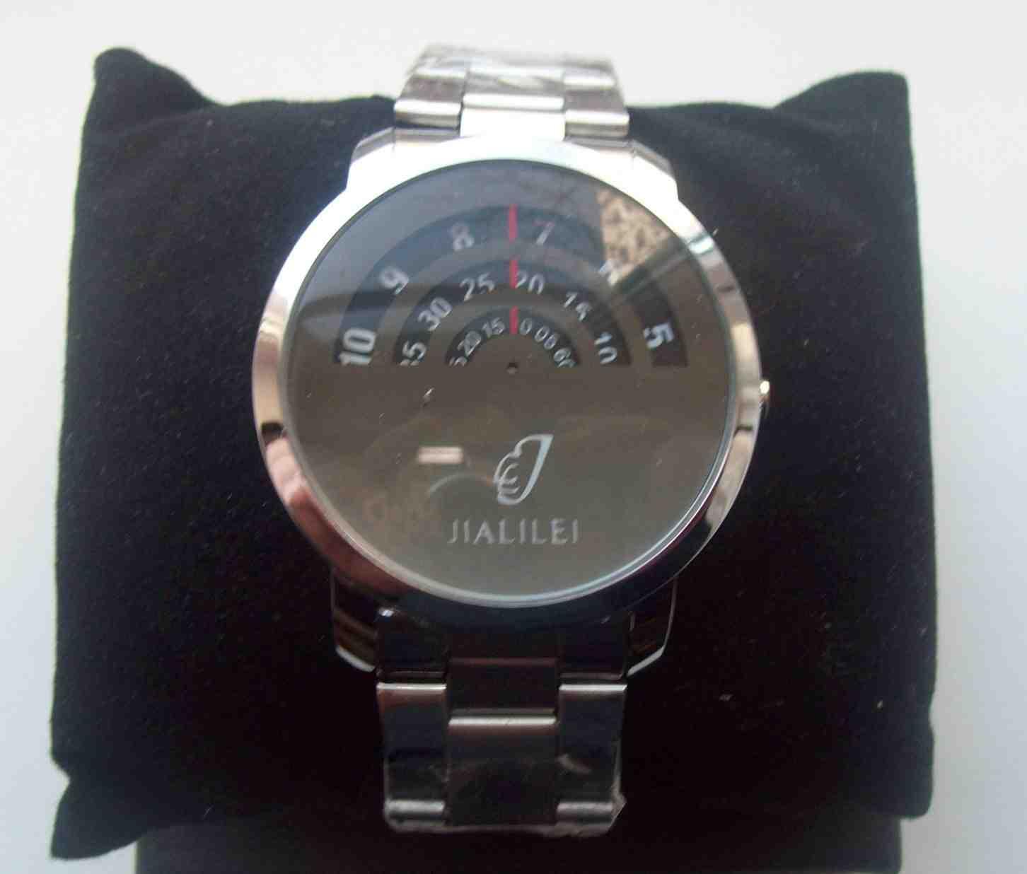 Годинник з 1 стрілкою і 3-ма циферблатами, зображення 1
