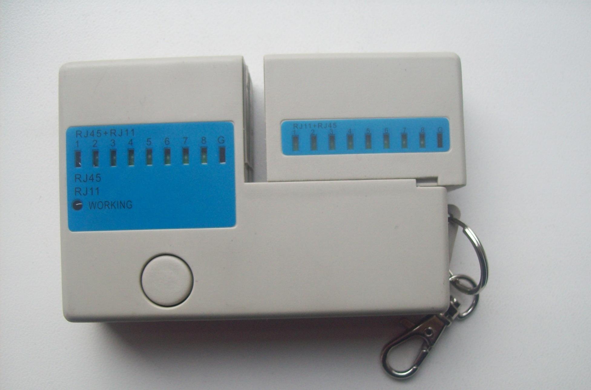 LAN тестер мережевих та телефонних кабелів RJ45, RJ11, зображення 1