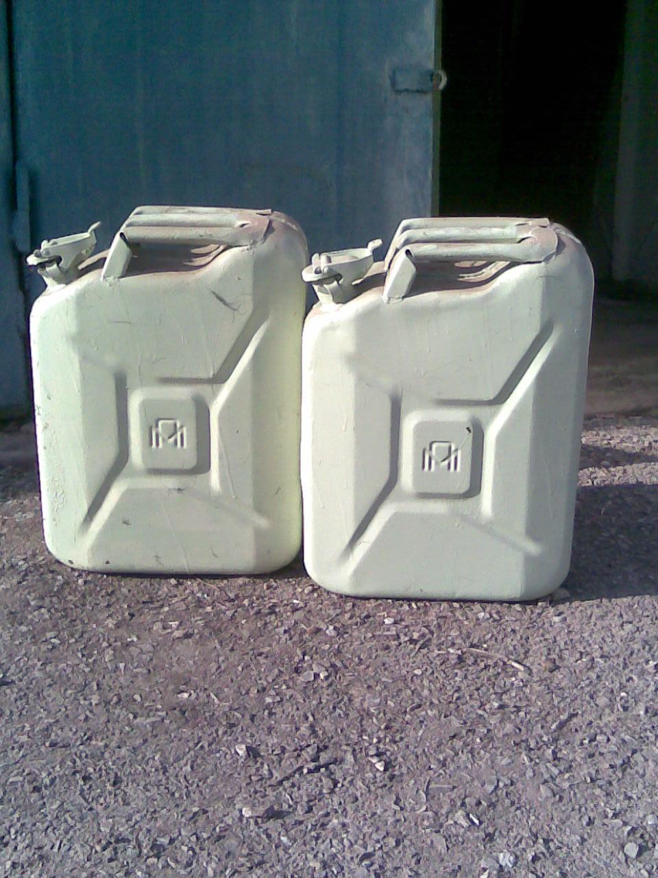 Металеві каністри для бензину, зображення 1