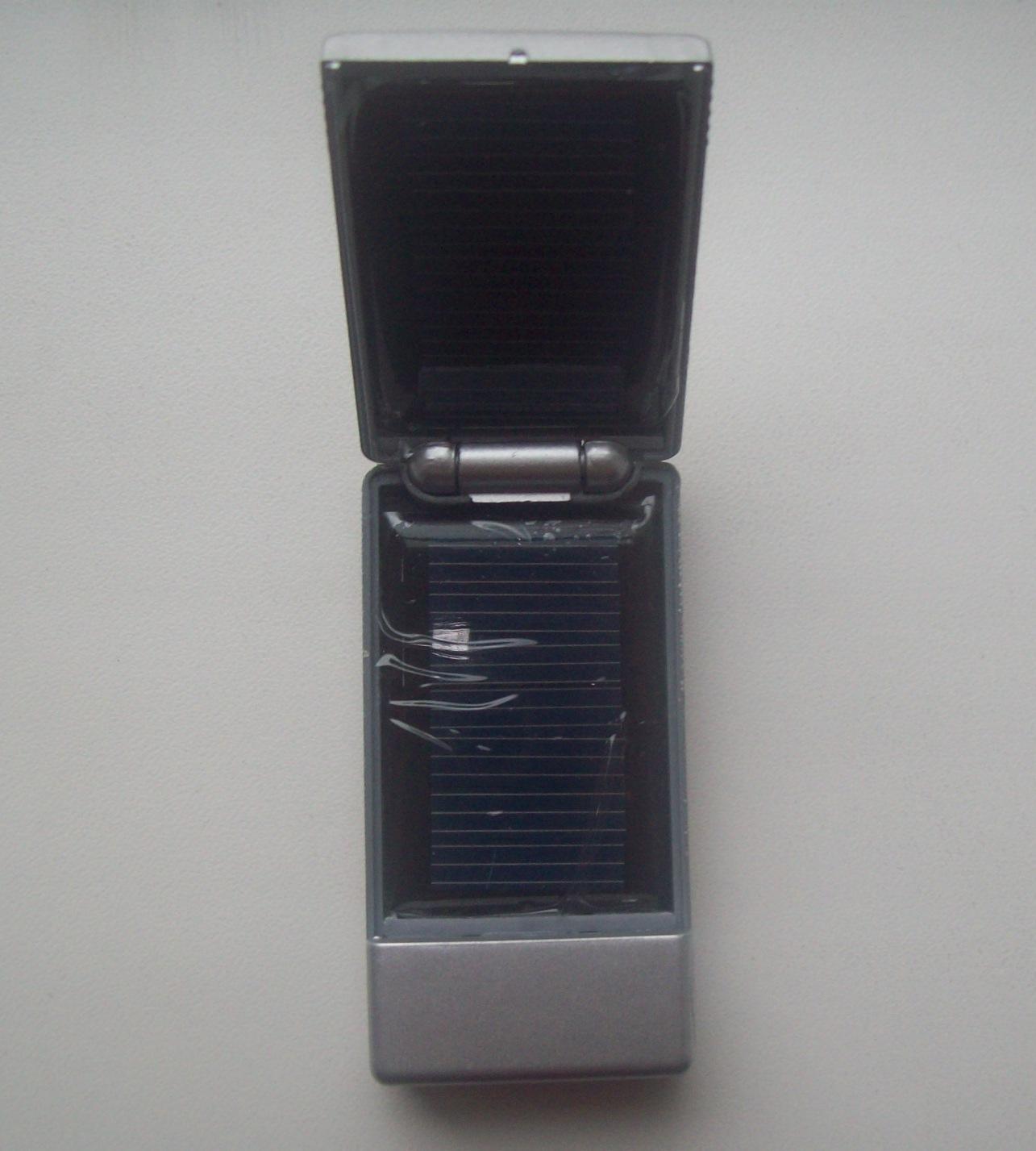 Сонячна зарядка для MP3/MP4 плеєрів, зображення 1