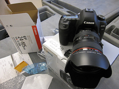 Новий Canon EOS 5D Mark II 21MP DSLR камери, зображення 1