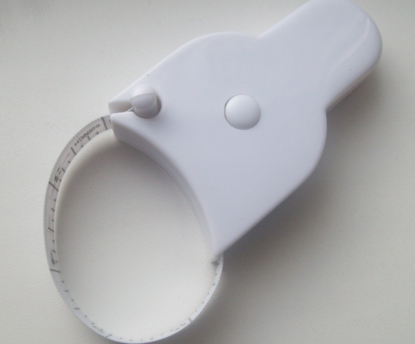 Механічна авто стрічка-рулетка для вимірювання тіла, зображення 1