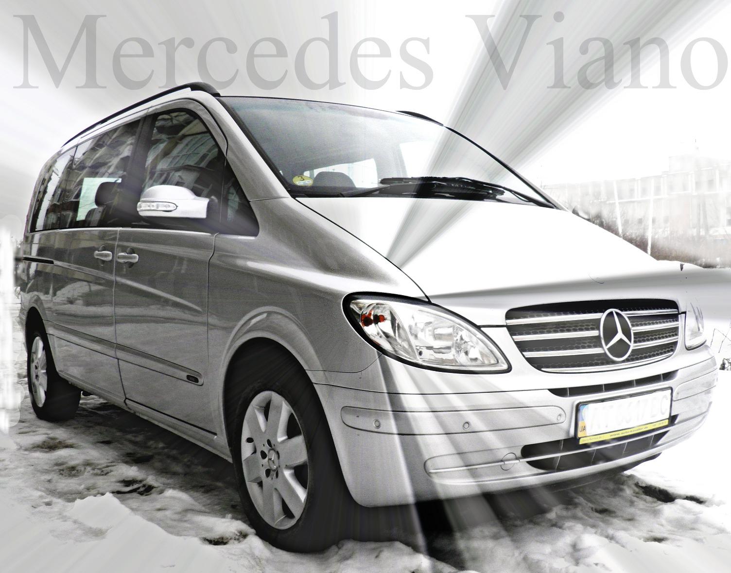 пасажирські перевезення на оригінальному пасажирі Mercedes VIANO, зображення 1