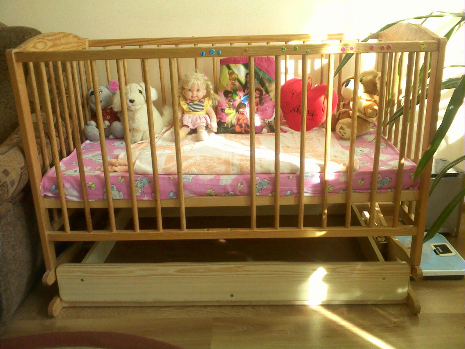 Продам дитяче ліжечко, зображення 1