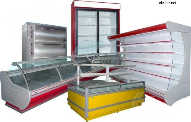 холодильне обладнання, теплове обладнання, стелажі, лінії самообслуговування., зображення 1