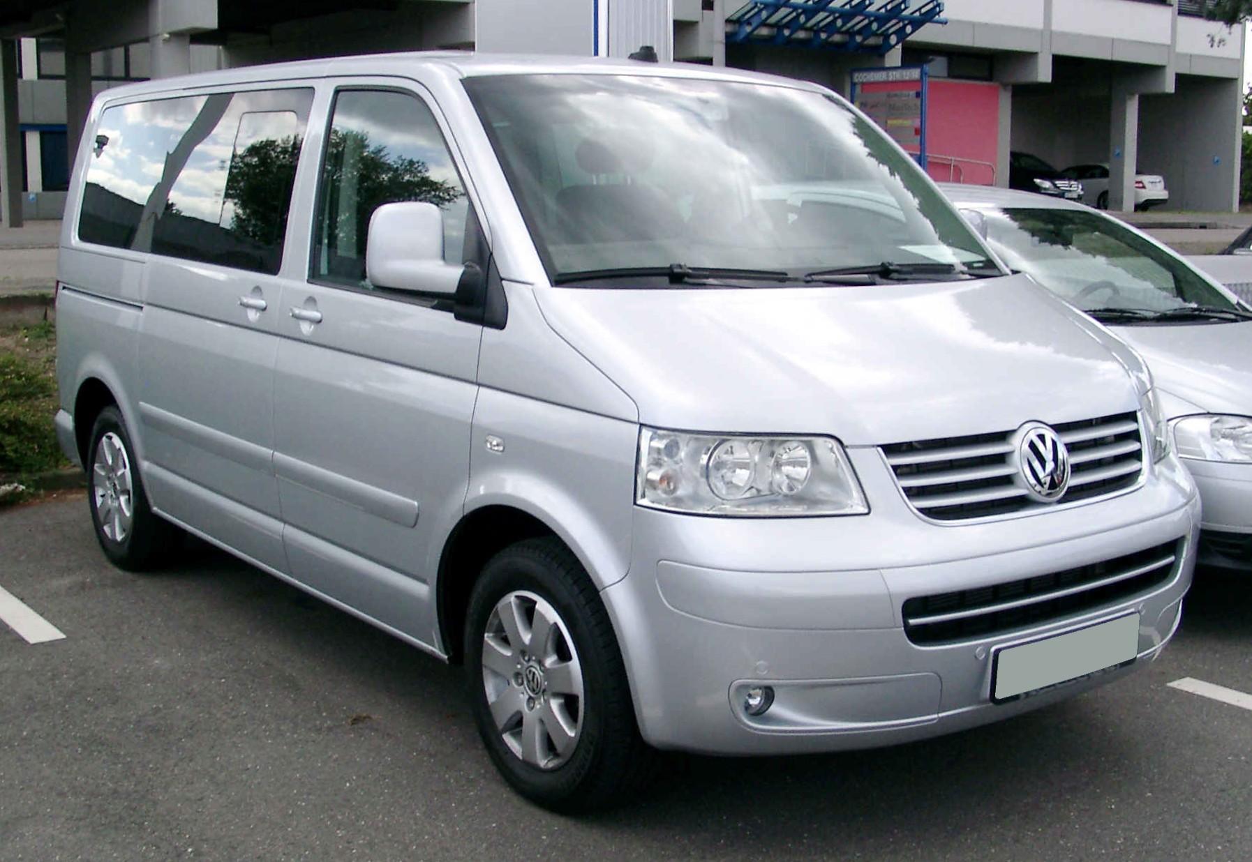 Пасажирські перевезення мікроавтобусом Volkswagen T5, зображення 1