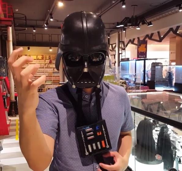 Шлем Дарта Вейдера с модулятором голоса б/у – 3480 грн., фото 1