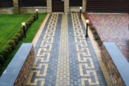 Бруківка, тротуарна плитка, бордюри, паркани, блоки, кільця від виробника, зображення 1