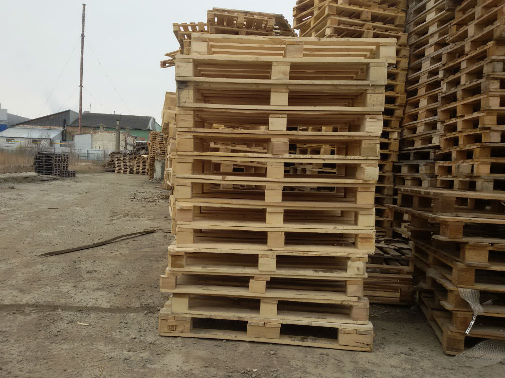 Продам деревянний піддон, зображення 1