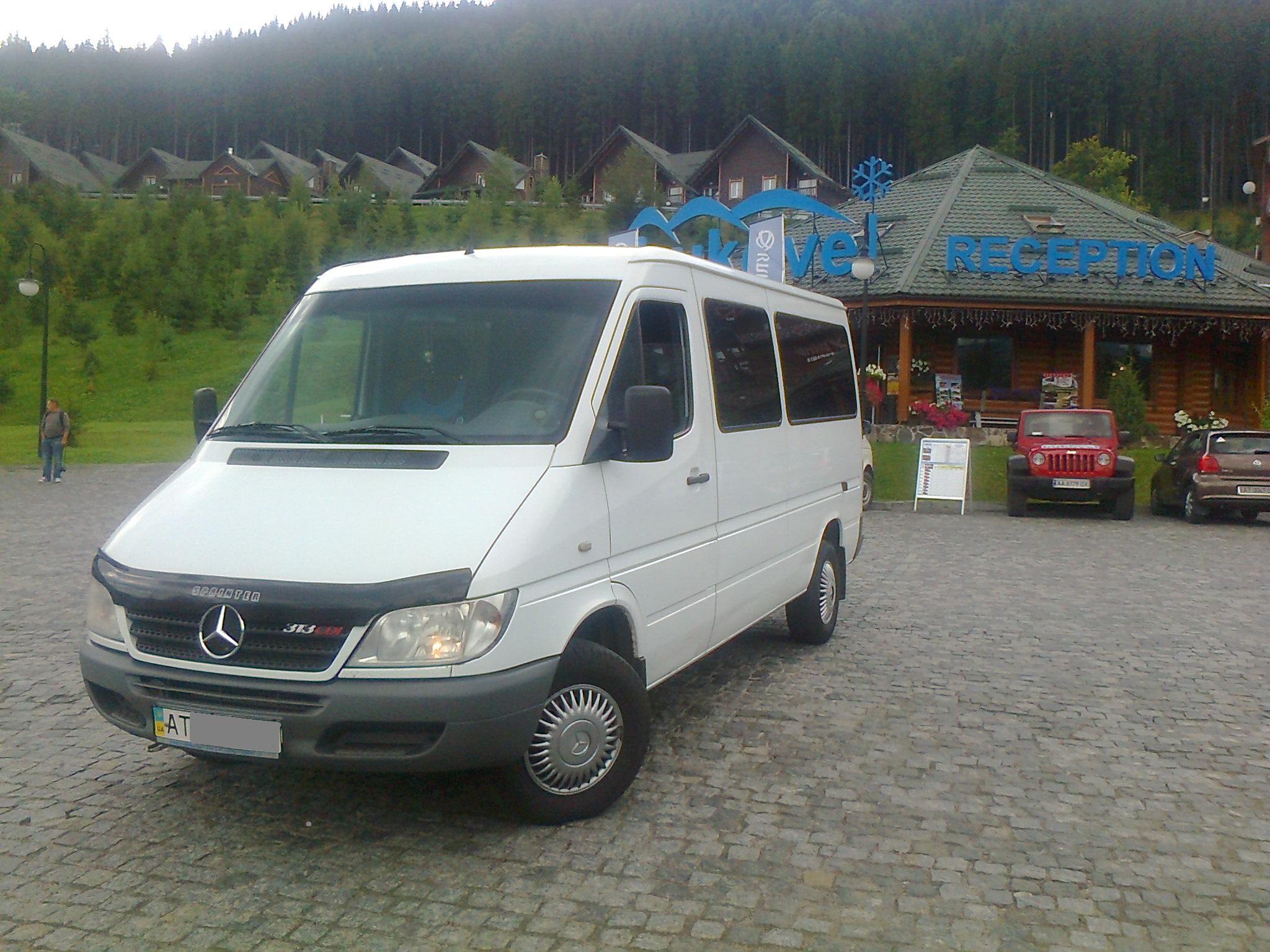 Пасажирські перевезення мікроавтобусом на 8-12 місць з Ів-Франківська в Буковель, зображення 1