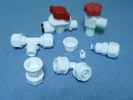 Фітинги для металопластикової труби з пластику, зображення 1