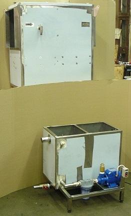 Искрогаситель для воздуховодов гидравлический, охлаждающий гидрофильтр, зображення 1