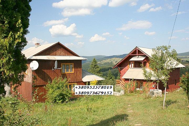 Яблуница Двухэтажный дом на 8 человек ,(2 дома), зображення 1