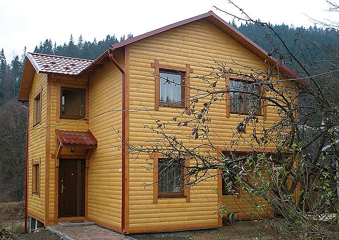 Татарив деревянный коттедж на 8-12мест., зображення 1