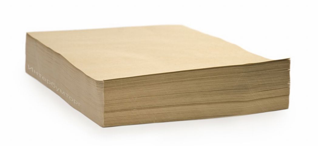 Крафт бумага в рулонах и листах, зображення 1