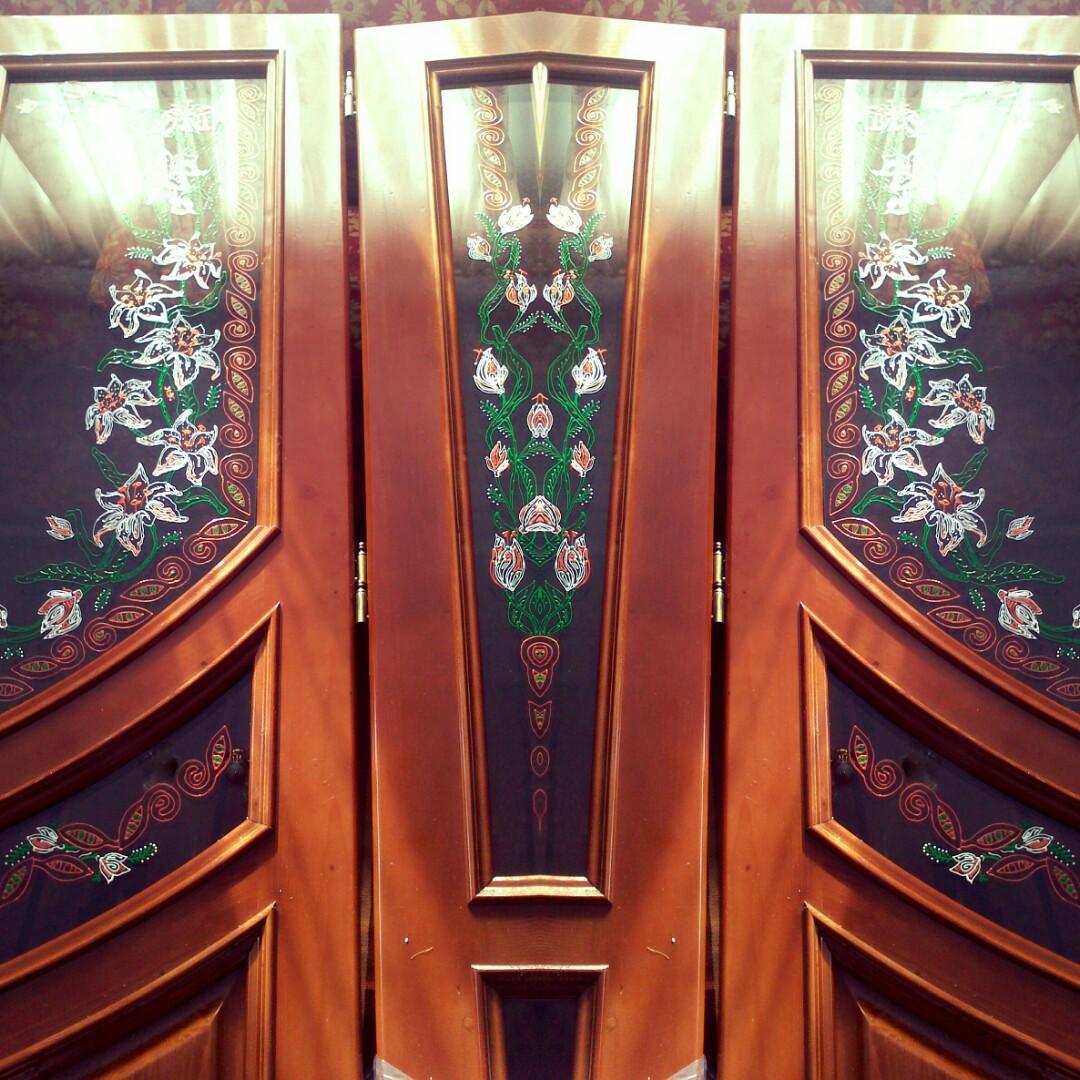 Розпис та декорування вхiдних та мiжкiмнатних дверей, фото 1