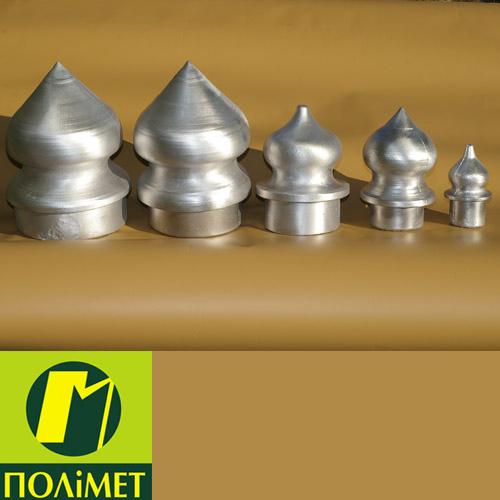 Алюмінієві наконечники до металевих огорож., зображення 1
