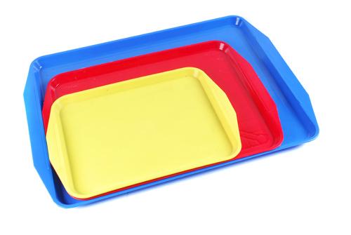 Пластмасові столові підноси., зображення 1