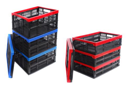 Пластмасові складні ящики., зображення 1