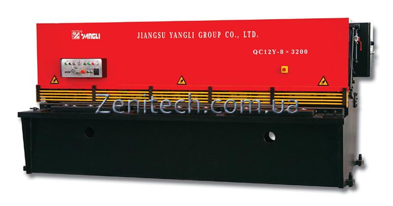 Гидравлические ножницы Yangli серии QC12Y, зображення 1