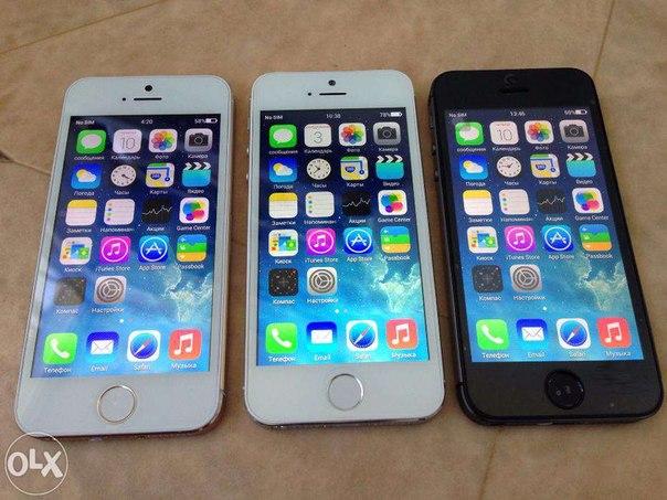 Iphone 5s ідеальний з 4-х ядерним процесором + чехол + бесп доставка!, зображення 1