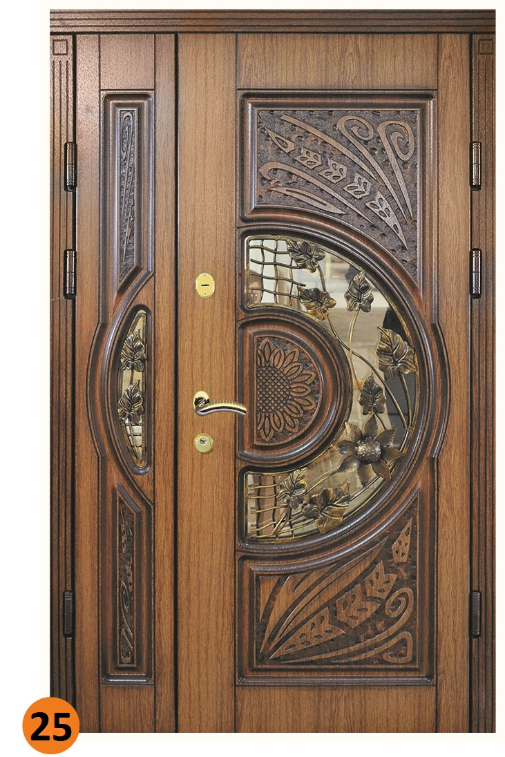 двер входная двустворчатая
