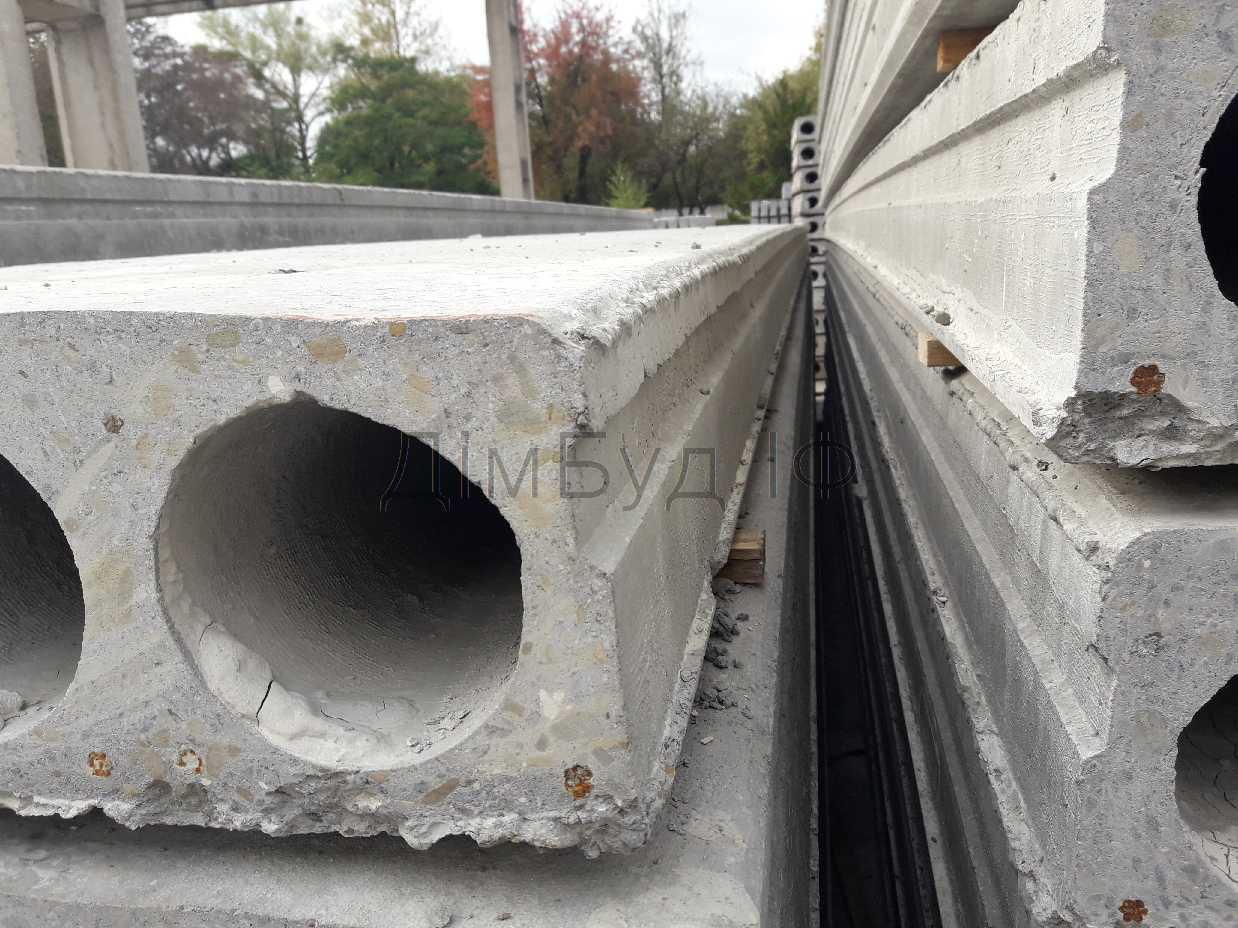 Плити перекриття бетонні пустотні (до 13,5м), зображення 2