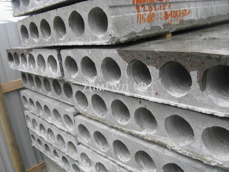 Плити перекриття бетонні пустотні (до 13,5м), зображення 3