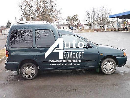 Передний салон, правое окно на автомобиль VW Caddy, Siat Inka (97-03) (Фольксваг, зображення 1
