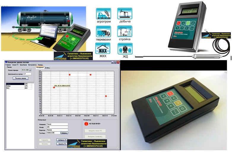FZ-500 (паливомір) - мобільний вимірювач рівня палива., зображення 1