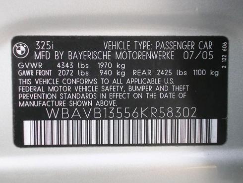 Таблички, шильды металлические дублирующие на импортные авто, зображення 1