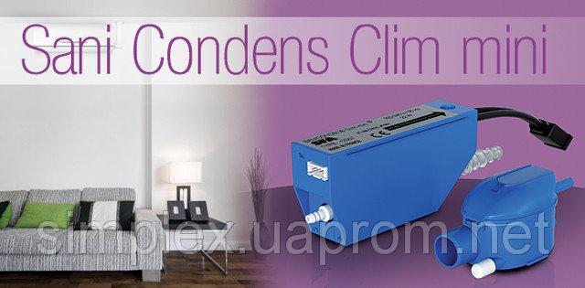 Sanicondens Clim Mini SFA насос для отведения конденсата, зображення 1