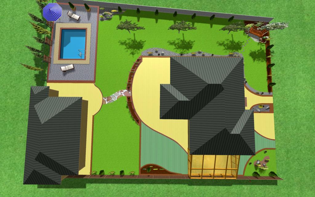 Проектування дизайну прибудинкових і промислових ділянок, зображення 1