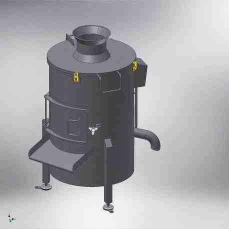 Центрифуга. Машина для очистки желудков и кишек., зображення 1