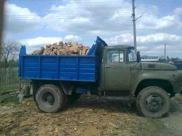 Продам дрова Луцьк дрова дубові рубані, зображення 1