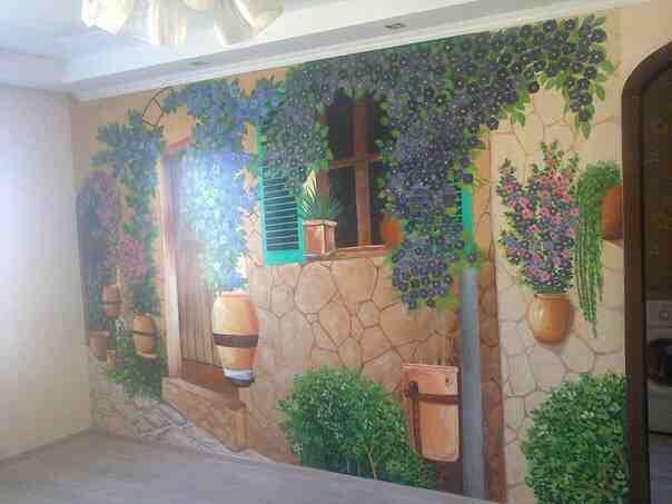 Художній розпис стін у всіх видах приміщень, зображення 1