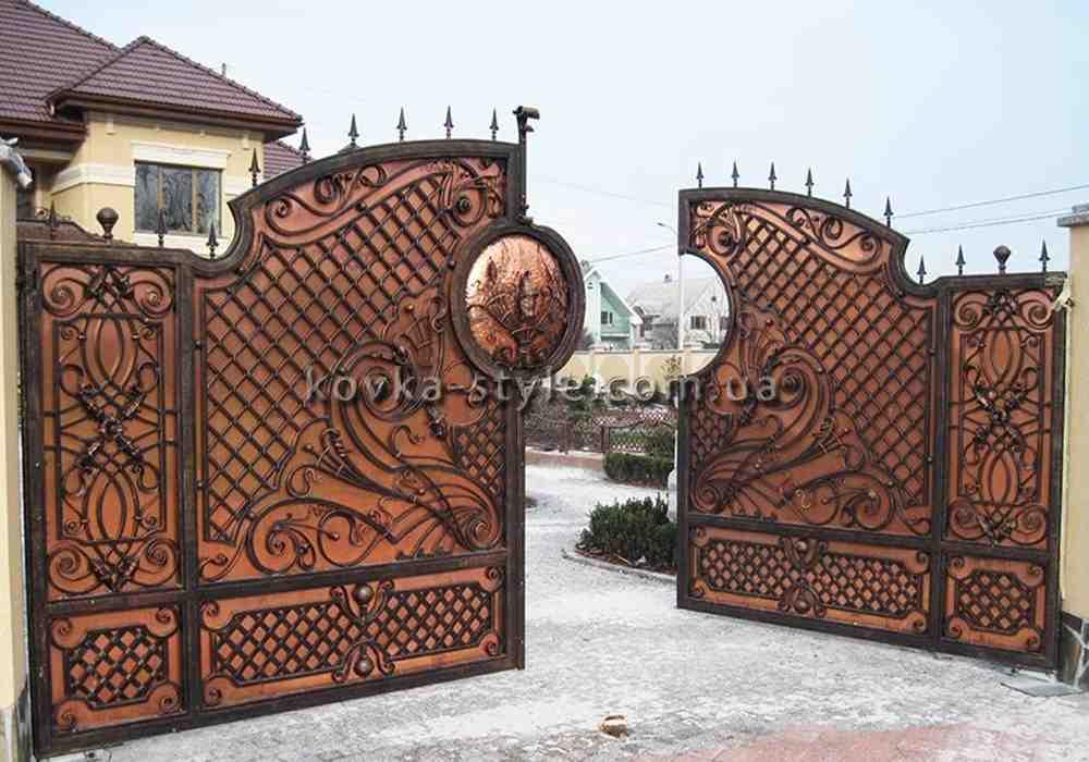 Ковані вироби на замовлення  (ворота, огорожа, перила, дашки, та інше.), фото 1