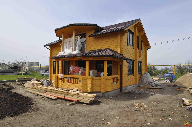 Дерев'яні будинки з профільованого брусу:, зображення 1