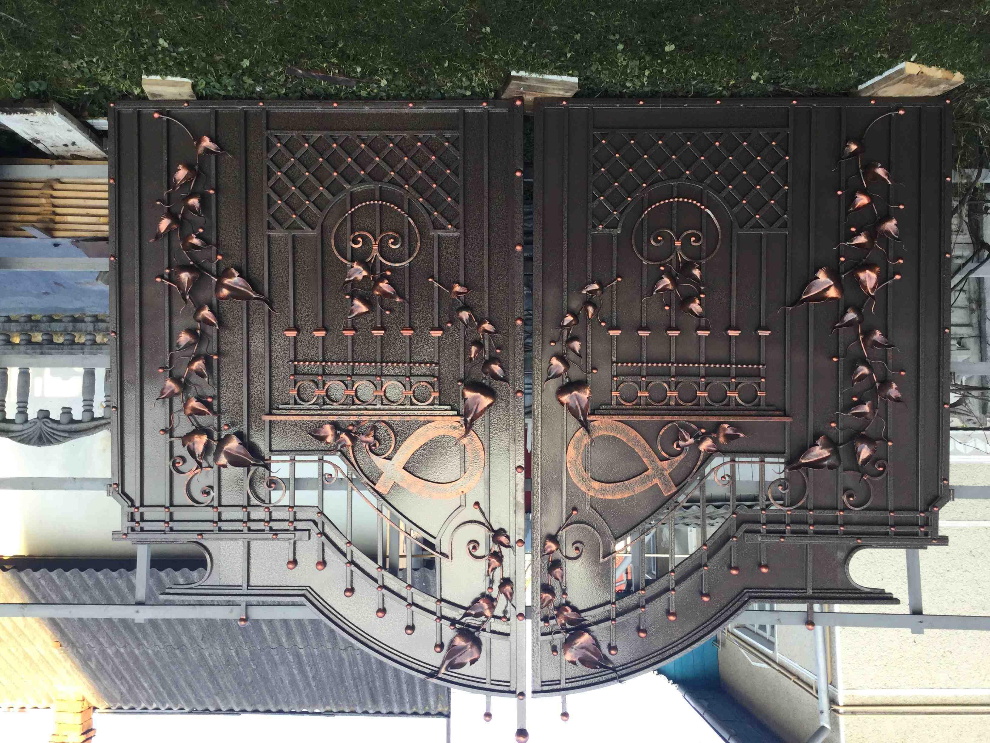 Ковані ворота, зображення 1