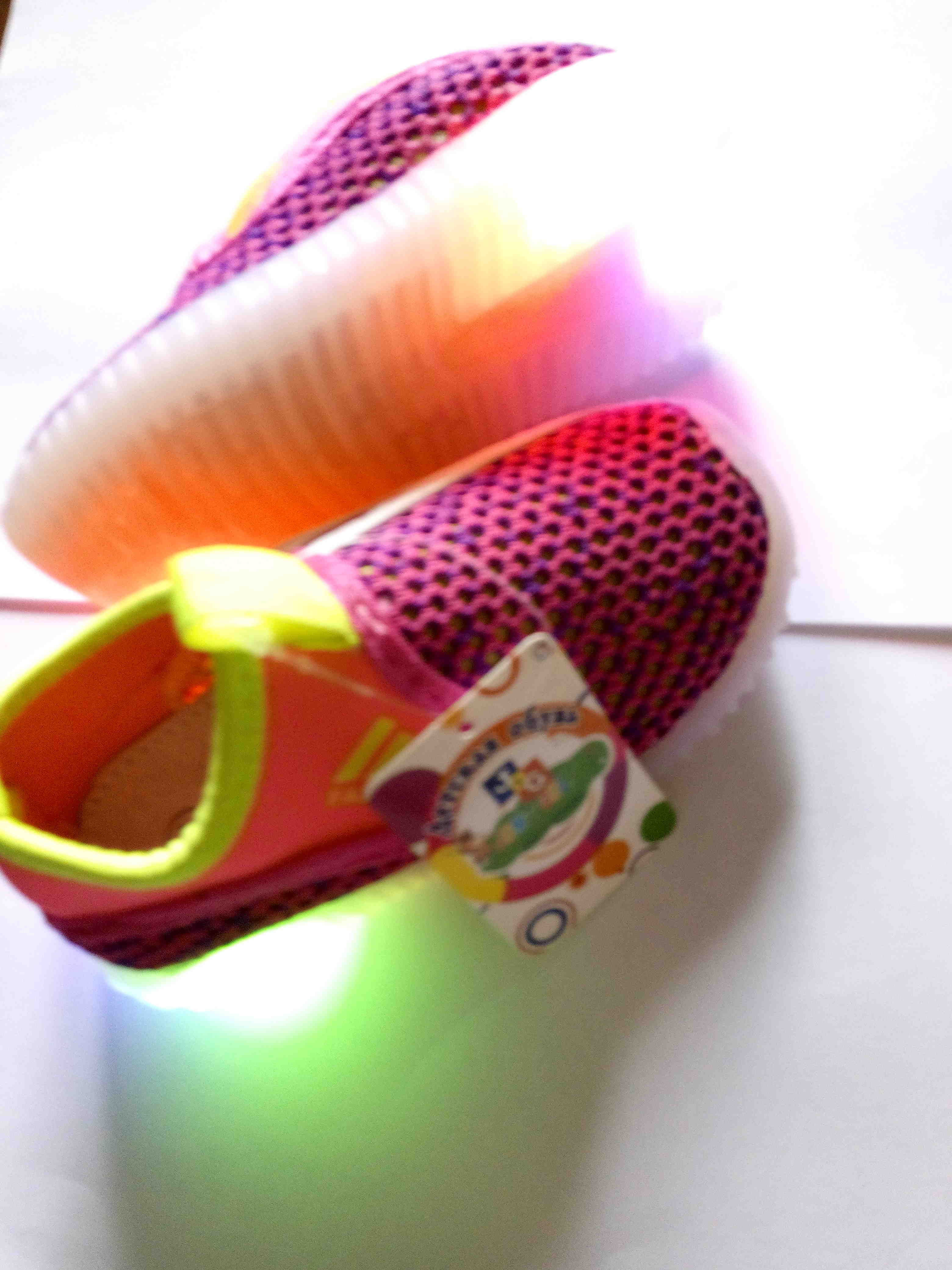 Кеди світяться трьома кольорами, кросівки, кроссовки 24-25р, зображення 1