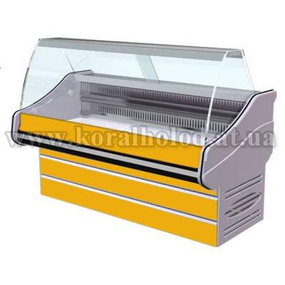 Вітрина холодильна для торгових приміщень, зображення 1