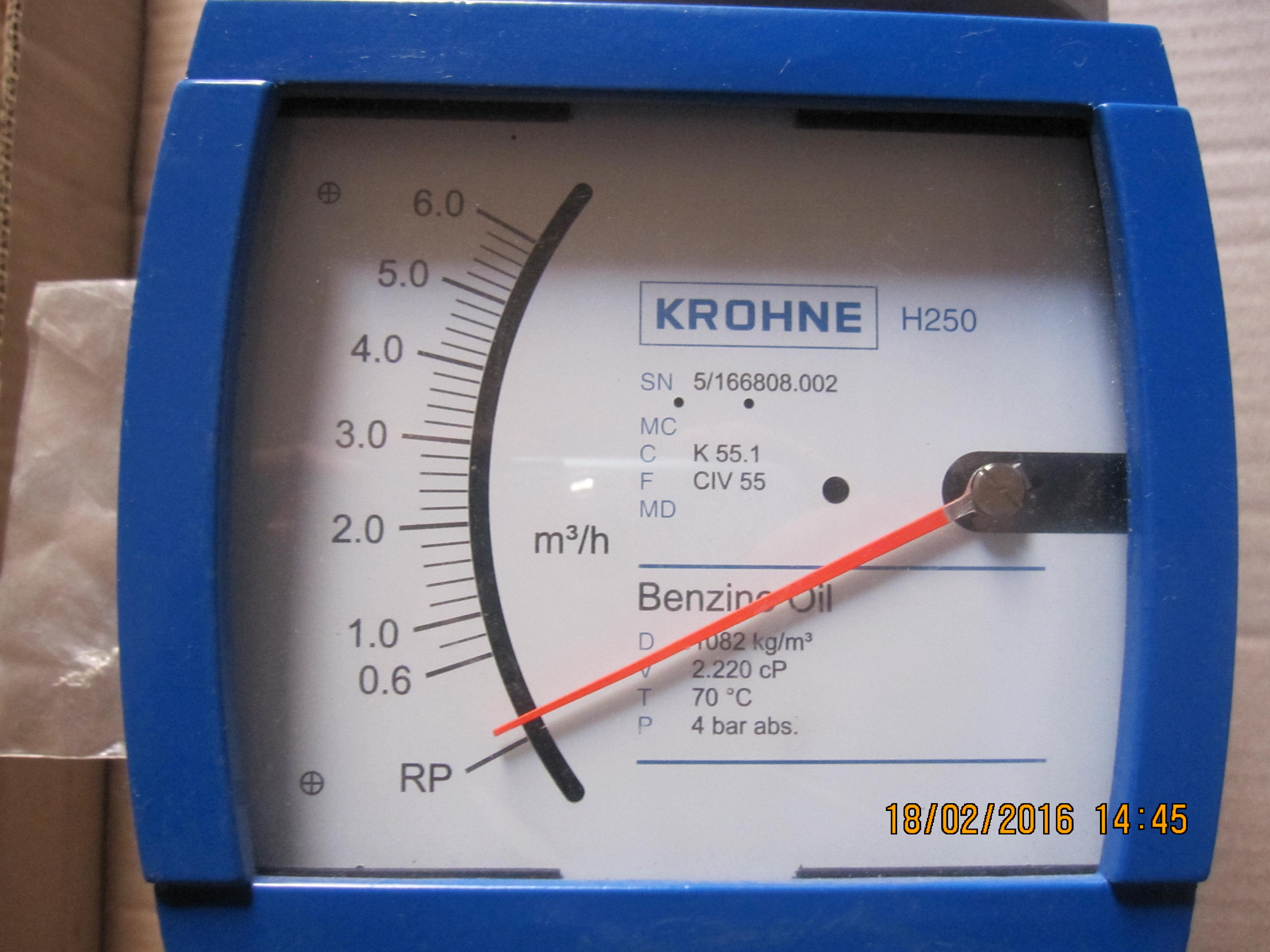 Расходомер Krohne H250 RR M9 ESK-EEx d-50, d-80, зображення 1