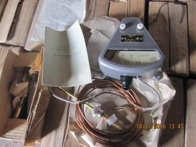 Манометрический термометр ТСМ-100 100*с, L= 4м, 6м, зображення 1