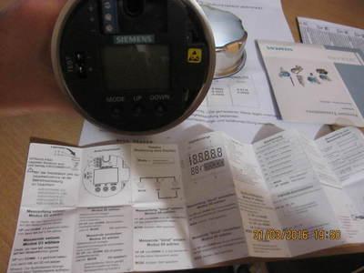 Датчик давления Sitrans P 300ex 7MF8023 0-100kПа, зображення 1