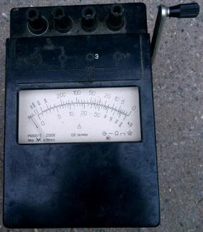 Мегаомметр М4100/5 2500v, зображення 1